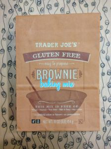 TJ's Gluten Free Brownie Mix