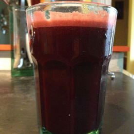 beet drink, as good as a beer