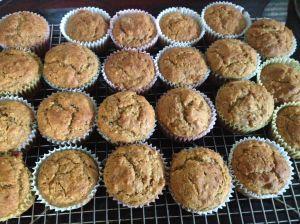 banana squash muffins